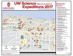 Trolley Map - Saturday, April 1